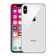 Apple iPhone X 64GB - Silver - Unlocked (Any network) - Grade A