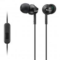 Sony MDR-EX110AP Deep Bass Earphones Earpods Handsfree Control and Mic (Black) V