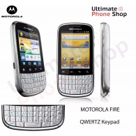 Motorola Fire QWERTZ Keypad SimFree Unlocked White