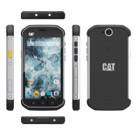 CAT S40 BLACK/SILVER 16GB FACTORY UNLOCKED 4G DUAL SIM