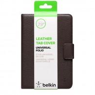 "Belkin Full Grain Leather Folio Case Universal 7.9"" Brown"