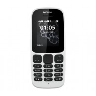 Nokia 105 - WHITE (Unlocked) (Single SIM) **2017 EDITION**
