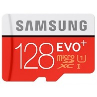 Samsung 128GB EVO Plus Micro SDXC UHS-I with Adapter